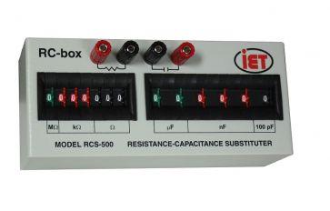 Widerstands- und Kapazitätsbox der RCS-Serie