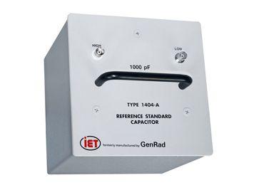GenRad-Primärkondensatoren der Serie 1404
